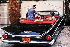 1959 Buick Convertible - Promotional Advertising Poster
