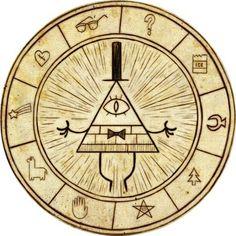 Bill Cipher Wheel Gravity Falls Pinterest Wheels