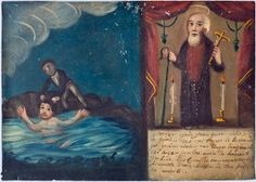 Mexican miracle paintings at the Wellcome Collection @Wellcome Collection | Cheddarchica's Blog