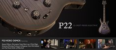 The new P22 with Piezo pickups for an acoustic sound.  Gotta get one!