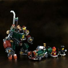 Does the steam make it shinier? | The Brothers Brick | LEGO Blog
