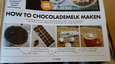 Chocolademelk kado