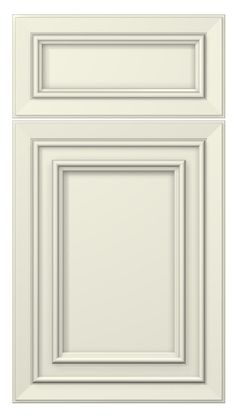 tuscany door style :: painted :: antique white #kitchen #cabinets #doors