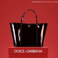 Dolce and Gabbana Patent Escape Shopper