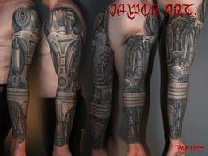 biomechanic sleeve tattoo# terminator t 800