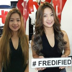 #FREDifiedsmile  Call / Viber / Text 0917-6283906  www.fredified.com www.facebook.com/ Call / Viber / Text 0917-6283906  www.fredified.com www.facebook.com/fredigodfather  3rd Level The Podium Mall ADB Avenue Ortigas Center Mandaluyong City  #CelebrityHairstylist #StylistOfTheStars #CelebrityHairdresser #Ombre #Balayage #DreamHair #Achieved #Alindog #SignatureTone #BrazilianBlowout #Haircut #Haircolor #Digiperm #PneumaticPerm #HairExtensions by fredigodfather…