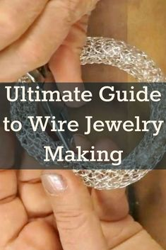 Are you new to the world of wire jewelry making? Learn how to make wire jewelry like a pro with eight expert tips from Interweave.  #JewelryTips