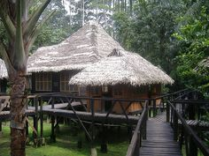 no, this isn't Bali or Indonesia, this is much more exotic...this is Amazonas-Colombia-Amacayacu