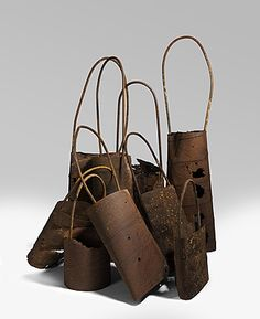 Lorraine CONNELLY-NORTHEY | Narrbongs - rusted iron and pipe - unDisclosed exhibition NGA Canberra