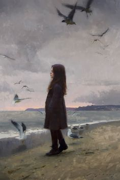 Thoughts of Summer by Jeremy Lipking, Oil on linen