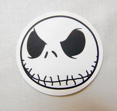 Skully Laptop/Skateboard Sticker... Available at FrancisRoyal.com where everything ships free and stickers are always buy one get two more free!