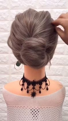 Wedding Hairstyles Half Up Half Down, Easy Hairstyles For Long Hair, Pretty Hairstyles, Hairstyle Ideas, Weave Hairstyles, Hairstyle Tutorials, Medium Hair Updo Easy, Hairstyle For Medium Length Hair, Hair Do For Medium Hair