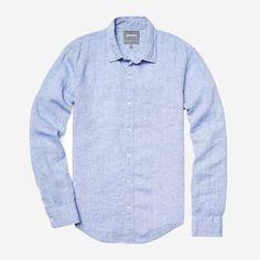 Washed Linen Shirt Image