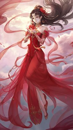 Fragrance Beauty - Fu Lengxiang is a girl born in a wealthy noble family. Blessed with a bright mind, she makes perfume - Anime Kawaii, Chica Anime Manga, Manga Girl, Anime Art Girl, Male Manga, Anime Fantasy, Fantasy Kunst, Fantasy Girl, Anime Angel