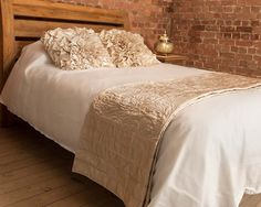 A beautiful soft and indulgent bed throw in soft ivory Matching cushions also available. Scatter Cushions, Floor Cushions, Bed Throws, Soft Furnishings, Color Splash, Modern Contemporary, Cosy, Flooring, Luxury