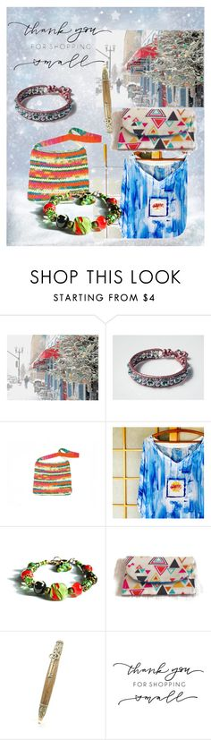 """Shop Small Etsy"" by cravecute ❤ liked on Polyvore featuring Quinto"