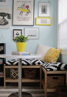 """Small-Space DIY Dining Room Alternatives 