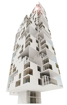 ARCORIS MONT'KIARA, KUALA LUMPUR, MALAYSIA ////// 30-storey hotel and 18-storey apartment blocks comprising picket units, arranged and stacked to dramatize structural manipulation and expression. #civil #structural #geotechnical #engineering #design #architecture