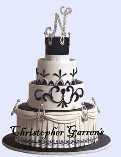 Christopher Garrens - I love it! Orange County Wedding Cakes at Christopher Garrens Let Them Eat Cake Costa Mesa / Newport Beach California Los Angeles San Diego Pastry Special Occasion Cake Party Cake .