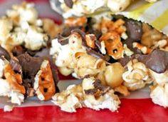 Caramel Pretzel Popcorn Recipe