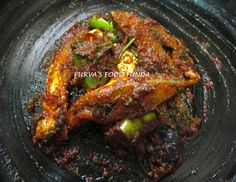Food Funda: Maharastrian Fish Curry - Ratnagiri Style (Papletache kalvan)