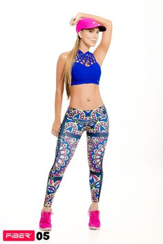Stained Glass Window Print Leggings - 05