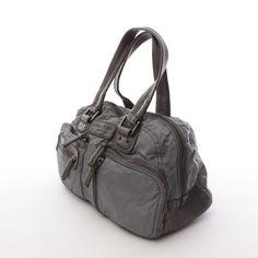 Exclusive Handtasche von Liebeskind Berlin in Grau - echtes Leder! Top Zustand!