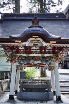 Shrine,Saitama,Japan 手水場(三峰神社・埼玉県秩父市)