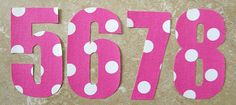 Pink Baby Shower Idea - A great DIY project! Iron these onto onesies to display at the shower, and then the Mom gets to keep them to photograph the baby each month! Baby Shower Games, Baby Showers, Pink Polka Dots, Baby Shower Decorations, Baby Shower Invitations, Onesies, Photograph, Diy Projects, Iron
