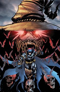 Batman vs. Scarecrow - Jheremy Raapack