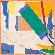 Matisse's trip to Tahiti inspired cut-outs representing sea vegetation many years later (2014 Succession H. Matisse / Artists Rights Society (ARS), New York)