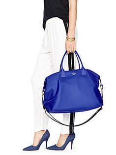 classic nylon lyla weekender by kate spade new york at Market Street - The Woodlands