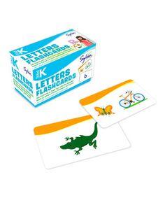 Pre-Kindergarten Letters Flashcard Set by Sylvan