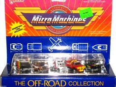 MICRO MACHINES THE OFF-ROAD COLLECTION NO.6400 GALOOB MINT IN BOX NEW IN BOX NIB #MICROMACHINES