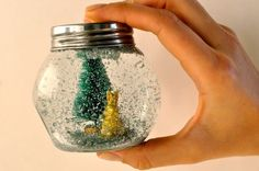 DIY Snow globes :)