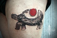 Love Hawk Tattoo - David Hale. Tortoise
