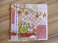Handmade by Marleen: kerstkaart