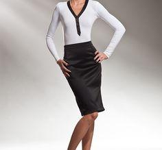 La falda de tubo, femenina e irresistible - http://www.efeblog.com/la-falda-de-tubo-femenina-e-irresistible-12649/