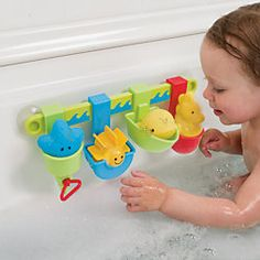 Seaside Pour & Play Bath Toy with Squirters