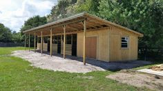 - Art Of Equitation Horse Shed, Horse Barn Plans, Barn Stalls, Horse Stalls, Backyard Barn, Horse Shelter, Run In Shed, Barns Sheds, Dream Barn