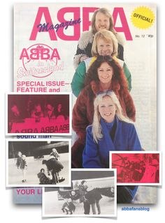 ABBA Fans Blog: Abba Magazine Issue 12 Pictures #1 #Abba #Agnetha #Frida
