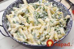 To je nápad! Pasta Recipes, Pasta Salad, Potato Salad, Healthy Recipes, Healthy Food, Potatoes, Food And Drink, Cooking, Ethnic Recipes