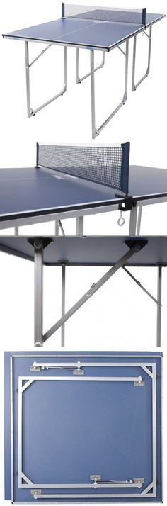 Tables 97075: Joola Midsize Table Tennis Table Ping Pong Height Folding Regulation BUY IT NOW ONLY: $227.12