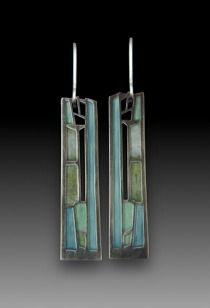 Carly Wright's painterly enamel