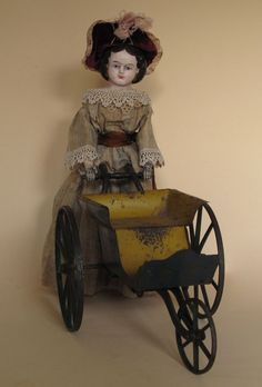 1868 George Hawkins' Walking Doll from arielbebes on Ruby Lane