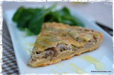 The Kitchen Lioness: French Fridays with Dorie - Mushroom and Shallot Quiche @Andrea Mohr