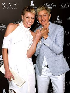 Ellen Degeneres Wedding Rings