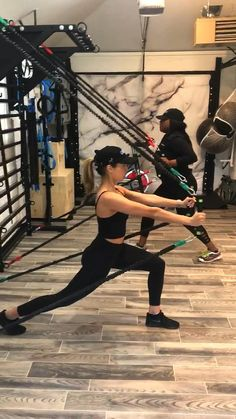 Home workout with functional Strength circuit using the MoveStrong Centerline Resistance Bands, Elevate Trainer, and Stall Bars. Home Gym Basement, Diy Home Gym, Gym Room At Home, Home Gym Decor, Best Home Gym, Home Gyms, Workout Room Home, Workout Rooms, Workout Room Decor