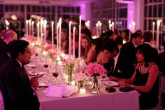 studio 450 wedding | AaB Creates NY Long dining tables, Long tapers