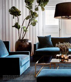 Armchair, sofa & coffee table - Slettvoll